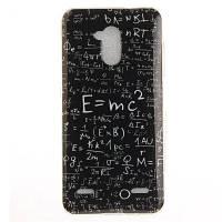 Математическая формула Мягкая прозрачная IMD-клавиатура для телефона TPU Мобильный смартфон Обложка Корпус для ZTE Blade V7 Lite Чёрный