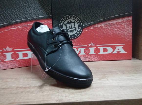 Новинка!Туфли мужские из натуральной кожи МИДА 110391., фото 2