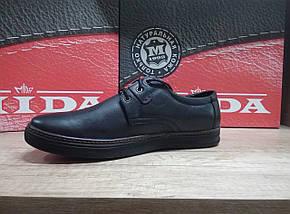 Туфли мужские из натуральной кожи МИДА 110391., фото 2