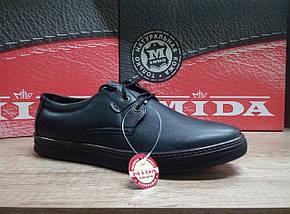 Туфли мужские из натуральной кожи МИДА 110391., фото 3