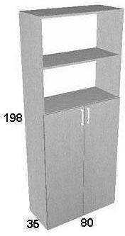 Шкаф для документов ПР601.6, фото 2