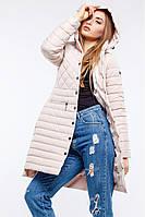 Очаровательная демисезонная куртка с удлиненной спинкой  42-54рр