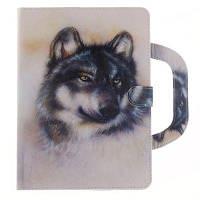 Кожаный защитный чехол Белый волк с рукой для iPad Mini 4 RAL1001 Бежевый