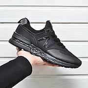 Мужские кроссовки New Balance MS574 All Black