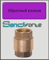 "Обратный клапан SD Forte 1"" латунный шток"