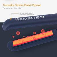 Профессиональный турмалин Керамический выпрямитель для волос Выпрямляющие утюги Сенсорный экран Светодиодный дисплей Плоский утюг Цифровой контроль
