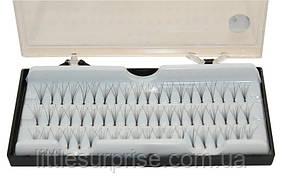 Пучковые ресницы 10 мм