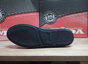 Мужские ботинки демисзонные МИДА 12192  из натуральной кожи., фото 3