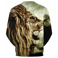 Новый продукт Lion Head Digital Print Спортивная толстовка XL
