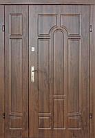 Полуторные  входные двери Редфорт Арка винорит на улицу