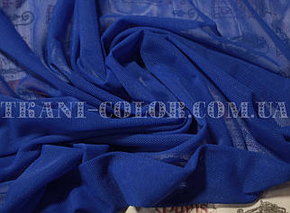 Ткань сетка стрейч синий электрик