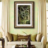 Специальная каркасная картинка Банановые деревья 20 x 14 дюймов (50cм x 35cм)