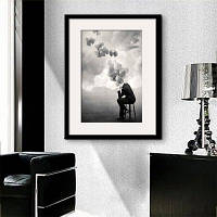 Специальная конструкция Каркасные картины Теневая печать 20 x 14 дюймов (50cм x 35cм)