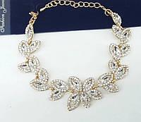 Винтажная бижутерия, винтажные женские браслеты из кристаллов оптом 1093