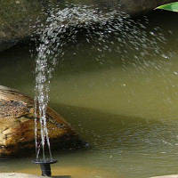 Солнцезащитный фонтан Открытый пруд бассейн украшения сада Цветной