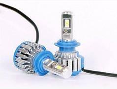 Светодиодная лампа Н7 (цена указана за 1 лампу 36 Вт) 6000K 3600Lm Canbus, ближний или дальний свет