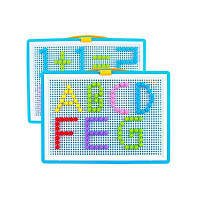 Творческий грибной гвоздь игрушки головоломка комбинация для детей детского сада Разноцветный
