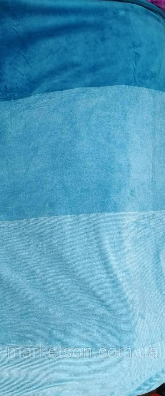 Флисовые простыни 200*230. Голубой.