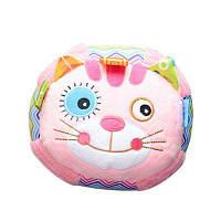 Happy Baby Плюшевые руки Холдинг мяч Утешительная игрушка Розовый