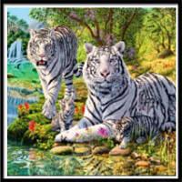 AIYUE 9447 Тигровая печать для рисования Алмазная живопись Алмазная вышивка