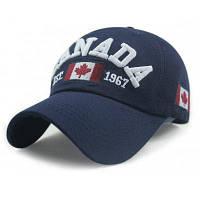 Шаблон флага Канады Украшенная регулируемая бейсбольная кепка Военно-морской флот