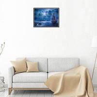 Naiyue 9503 Sailing Print Draw Алмазный рисунок Синий