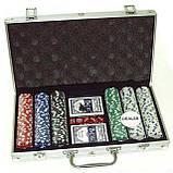Покерный набор в кейсе №300, все для покера, фото 4