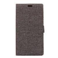 Жесткая текстура для холста для HTC U11 Lite Серый