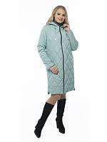 Прямое демисезонное пальто