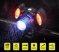 Велосипедный фонарь BL-31176+2COB
