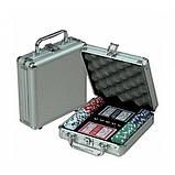 Покерный набор в кейсе №100с, качественный товары,сувениры для мужчин , фото 2