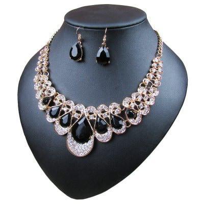 Женские роскошные бриллиантовые кольца с бриллиантами для бриллиантов Чёрный - ➊ТопШоп ➠ Товары из Китая с бесплатной доставкой в Украину! в Киеве