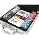 Покерный набор в кейсе №100с, качественный товары,сувениры для мужчин , фото 4