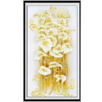 NAIYUE 713-6 Входная лилия Печать рисунка Алмазная живопись Алмазная вышивка