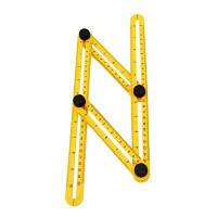 Инструмент для измерения угла инструмента Инструментальный четырехсторонний рычажный механизм Слайд (цвет: желтый) Жёлтый