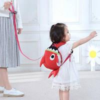 SUNVENO Cartoon Baby Harness Малыш безопасности Рюкзак Anti-потерял ремень Ходьба Backbag Детские безопасности браслеты Красный