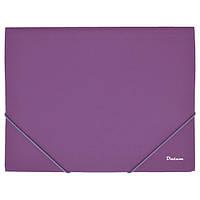 Папка на резинке A4 D1920-12, фиолетовая