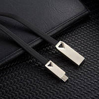 Micro USB-кабель для Samsung HTC Huawei Xiaomi Android 1M Fast Charge Чёрный