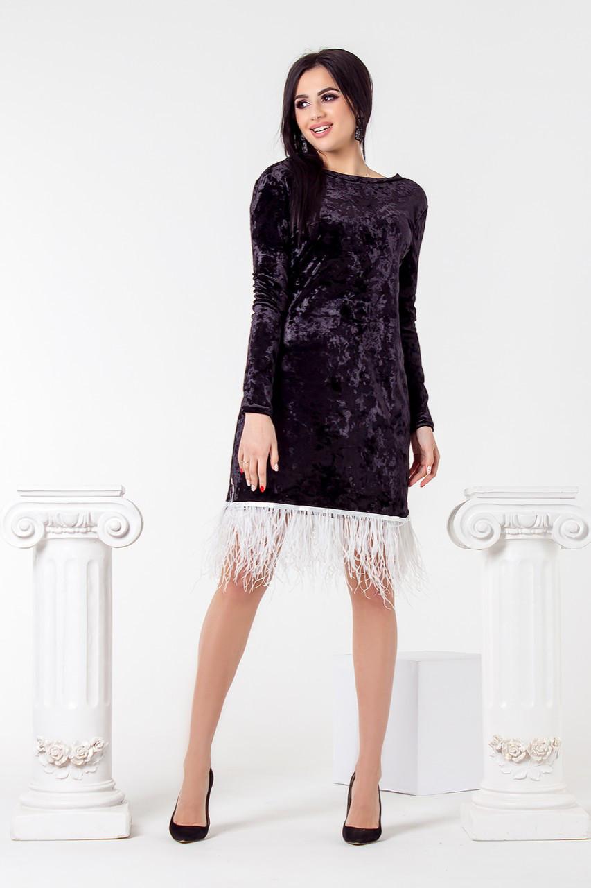 Трендовое платье 3693