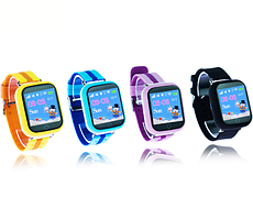 Качественные часы Smart Watch Q90. Детские смарт часы GSM, sim, Sos,Tracker Finder. Яркий дизайн. Код: КДН3051