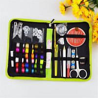 38PCS Threads Sewing Kits Портативные Полезные Путешествия Главная Игла ленты Ножницы Многофункциональные DIY Инструменты Зеленый цвет Зелёный