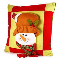 Очаровательный Санта-Клаус- Домашняя Декоративная Подушка Из Хлопка стиль снеговика