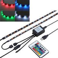 DC5V рождественское украшение RGB светодиодное смещение освещения для HDTV USB Powered TV Backlighting RGB