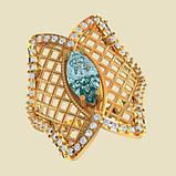 Кольцо  женское серебряное Бабочка ВKE-1455, фото 2