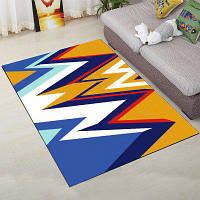 Пол Ковер Популярный цветной геометрический узор Толстый Comfy дверной коврик 160X230 см