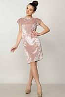 Платье женское Эвелина пудра
