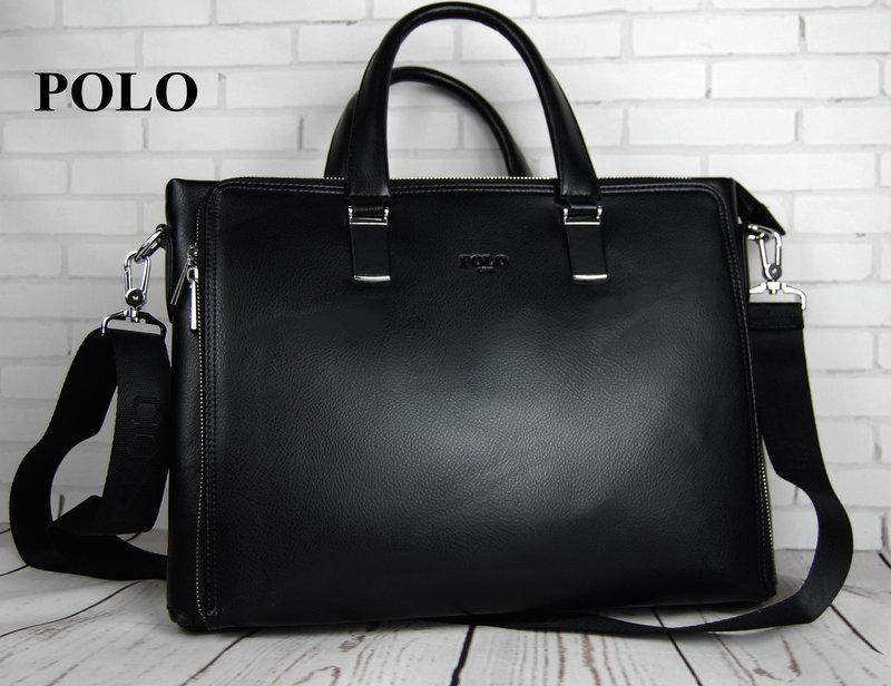 03ecf1f18113 Мужская сумка-портфель Polo. Формат А4. Сумка поло экокожа. Качественная  сумка-