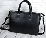 Чоловіча сумка-портфель Polo. Формат А4. Сумка поло екокожа. Якісна сумка-портфель., фото 2