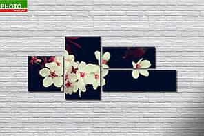 Модульная картина сакура