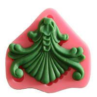 Facemile Fan Flower Shaped Силиконовая форма Шоколадная конфета Jello 3D Силиконовая пресс-форма для мыла Мультфильм Подарочные инструменты Розовый